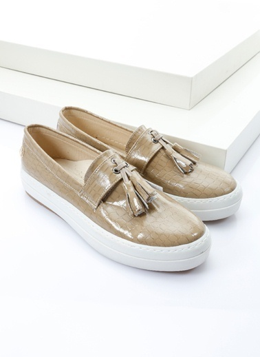 Italian Shoes Ayakkabı Vizon